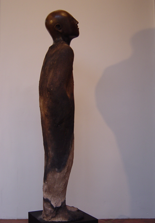 tall ceramic figure